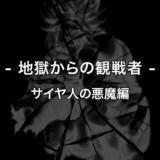 ドラゴンボール -地獄からの観戦者- サイヤ人の悪魔編